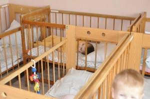 Палата для лежачих детей одного их приютов